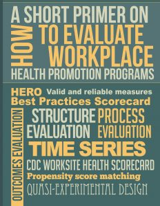 How to Evaluate Workplace Health Promotion Programs